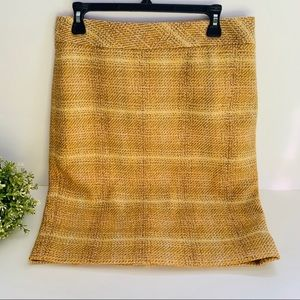 J.Crew Factory Sunnie Pencil Skirt Wool Blend
